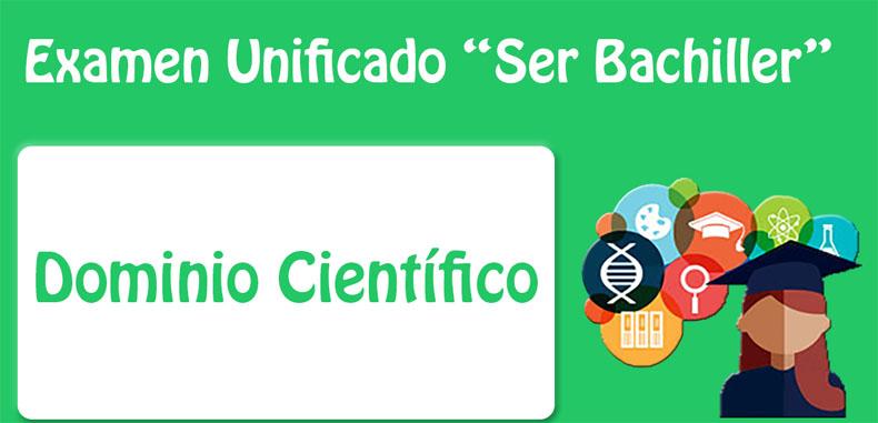 """Material descargable en pdf para el campo científico del programa """"Ser Bachiller"""""""