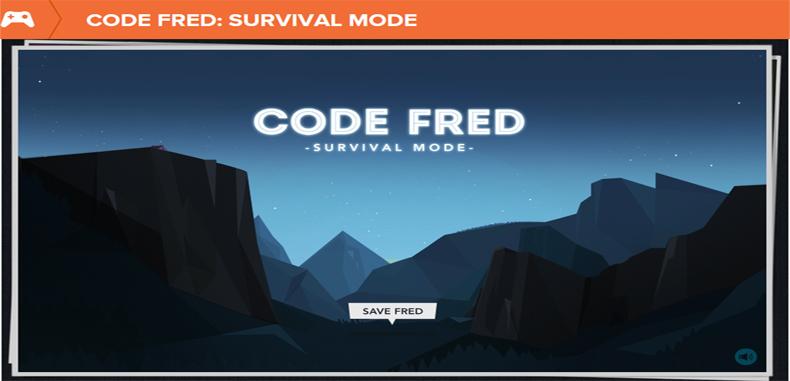 Juego en línea interactivo para estudiantes: CODE FRED