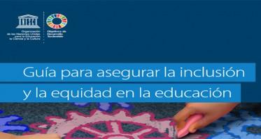 Hoy, compartimos con ustedes colegas, esta Guía para asegurar la inclusión y la equidad en la educación que servirá como recurso para los países y contribuirá a acelerar los esfuerzos que se realizan en todo el mundo para lograr una educación inclusiva. La Agenda 2030 para el Desarrollo Sostenible, centrada en que nadie se quede atrás, brinda una oportunidad única para crear sociedades más inclusivas y equitativas. Esto debería comenzar por sistemas de educación inclusiva