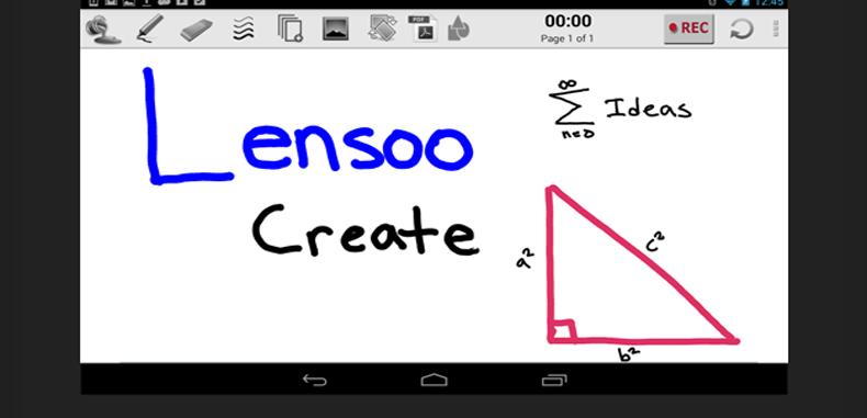 Lensoo Create, una aplicación educativa para estudiantes y docentes.
