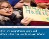 """El día de hoy, compartimos con ustedes un mandato del Informe de Seguimiento de la Educación en el Mundo que consiste en ser """"el mecanismo de seguimiento y presentación de informes sobre el ODS 4 (objetivos de desarrollo sostenible) y sobre la educación en los otros ODS"""" con la misión de """"informar sobre la puesta en marcha de estrategias nacionales e internacionales orientadas a ayudar a todos los asociados pertinentes y se especifica en la Declaración de Incheon y el Marco de Acción Educación 2030."""