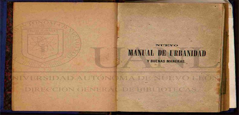 NUEVO MANUAL DE URBANIDAD Y BUENAS MANERAS EN PDF