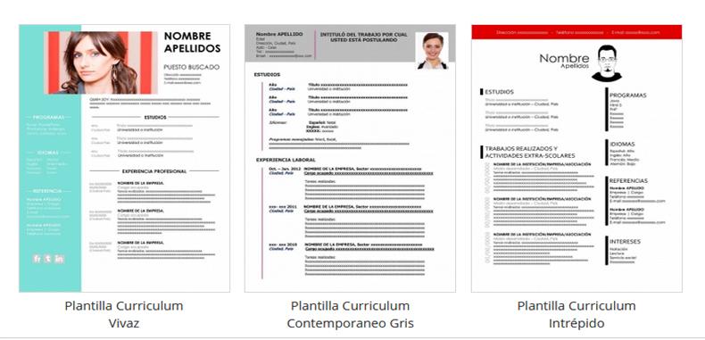 Crea Curriculums Vitae originales con éstas 47 Plantillas Gratuitas en Microsoft Word