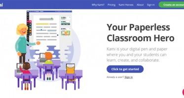 Kami es una aplicación web que puedes usar en cualquier navegador. La función principal de Kami es que les proporciona a profesores y estudiantes, un lugar para dibujar, resaltar, corregir y escribir en un PDF. Puede compartir todos archivos que deseas de PDF en la app y escribir notas en los márgenes para que los demás usuarios puedan verlas.