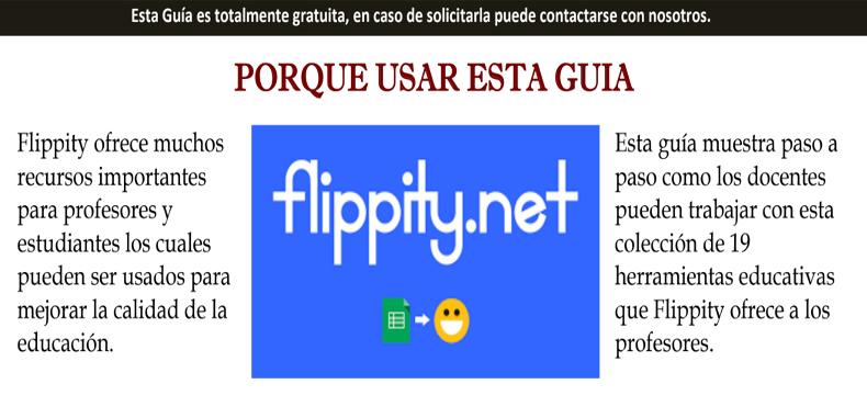 """Manual de la herramienta web """"Flippity.net"""" (descarga gratuita)"""