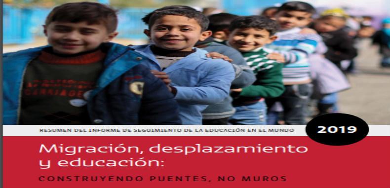 Informe de seguimiento de la educación en el mundo, 2019: Migración, desplazamiento y educación en PDF