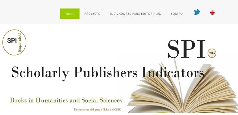 Conoce las editoriales mejores valoradas en el 2018 según 'SPI' (Scholarly Publishers Indicators)