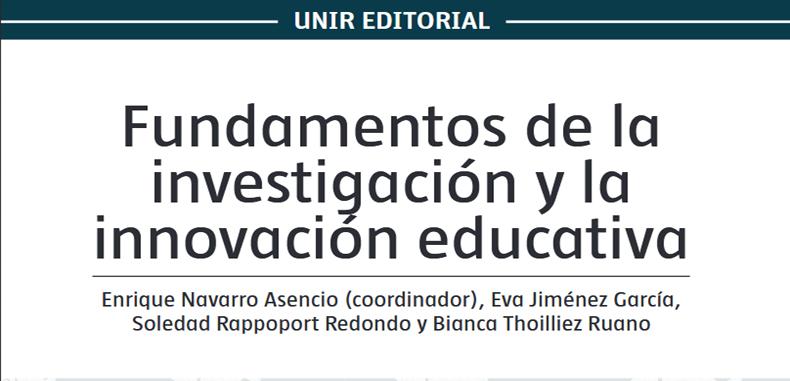 Manual de Fundamentos de la Investigación y la Innovación Educativa en PDF.