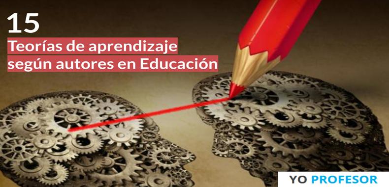 15 Teorías de aprendizaje según autores en Educación