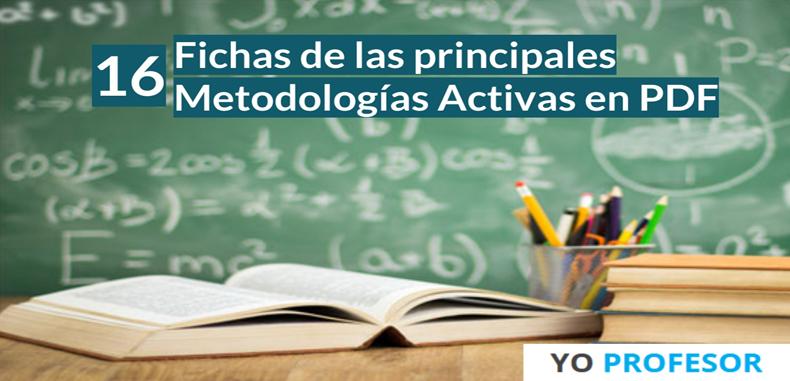16 Fichas de las principales metodologías activas en PDF
