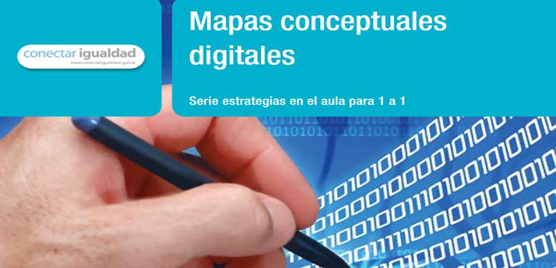 Guía sobre mapas conceptuales digitales en PDF.