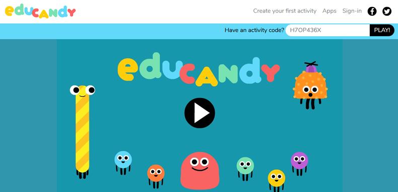 Crea juegos interactivos de forma sencilla con Educandy