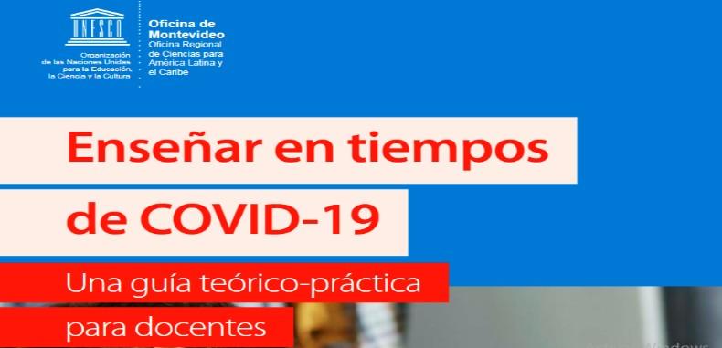 UNESCO 2020 Guía Teórico-Práctica para Docentes en PDF.