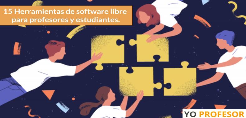 15 Herramientas de software libre para profesores y estudiantes.