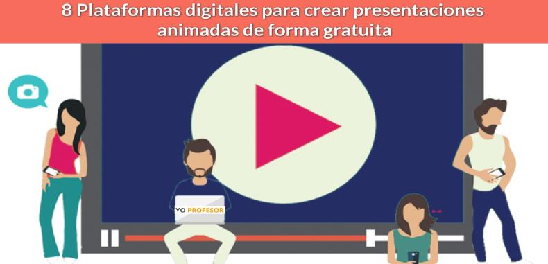 8 Plataformas digitales para crear presentaciones animadas de forma gratuita