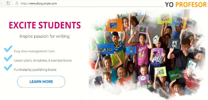 Crea cuentos digitales de forma gratuita con StoryJumper