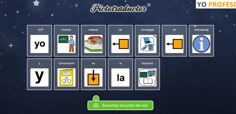 Crea pictogramas para una mejor comunicación oral con Pictotraductor