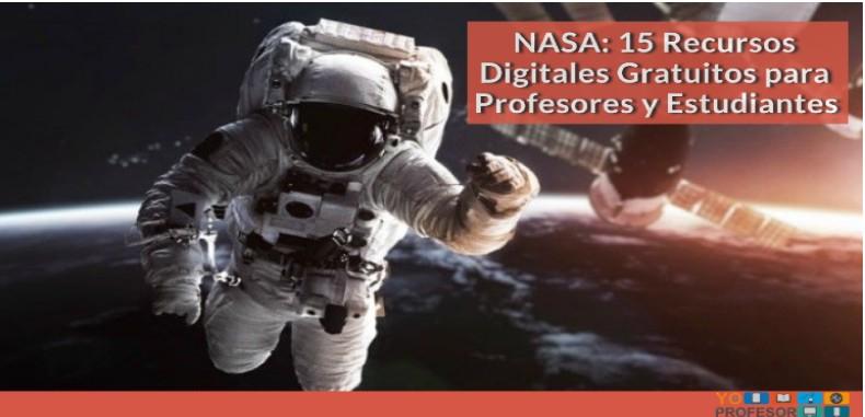 NASA: 15 Recursos Digitales Gratuitos para Profesores y Estudiantes