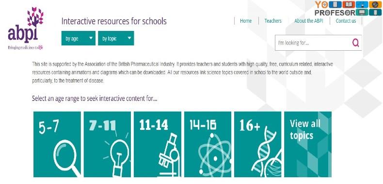ABPI: Sitio Web con recursos interactivos para profesores y estudiantes de la Investigación en Biociencias.