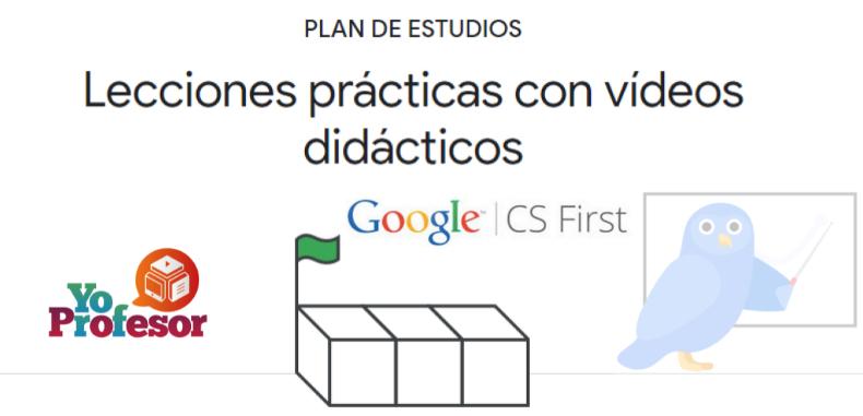 Aprende a programar con CS FIRST de Google, diseñado para estudiantes y profesores.