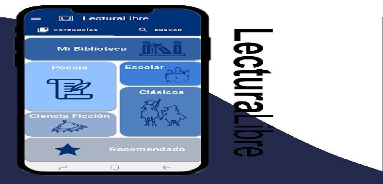 LecturaLibre: Aplicación con libros de todos los géneros literarios para estudiantes y profesores.