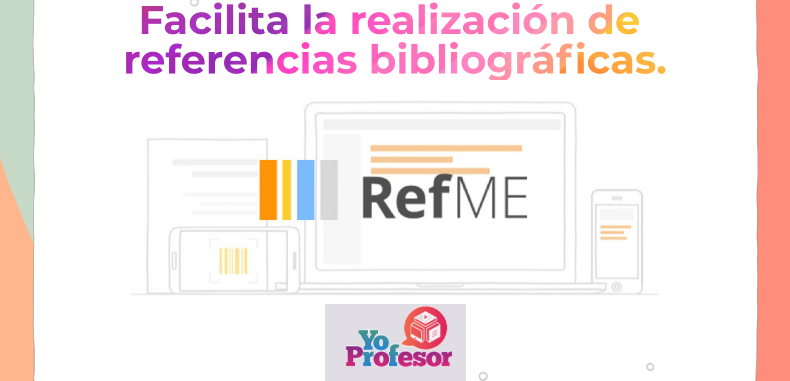 RefME facilita la realización de referencias bibliográficas.