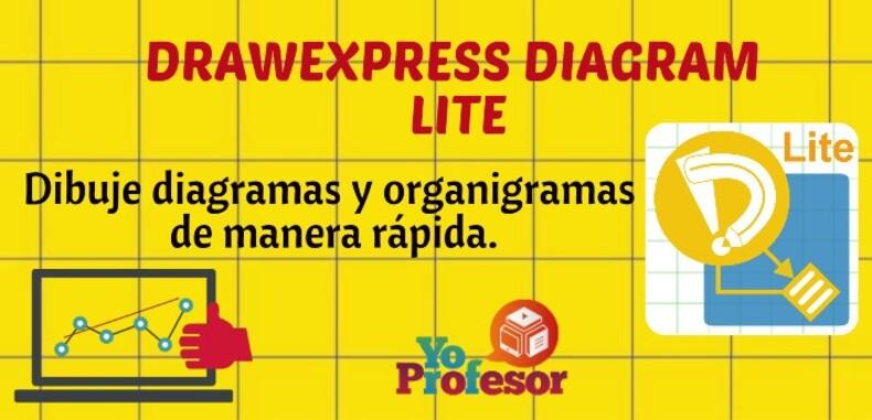 Con DRAWEXPRESS DIAGRAM LITE, dibuje diagramas y organigramas de manera rápida.