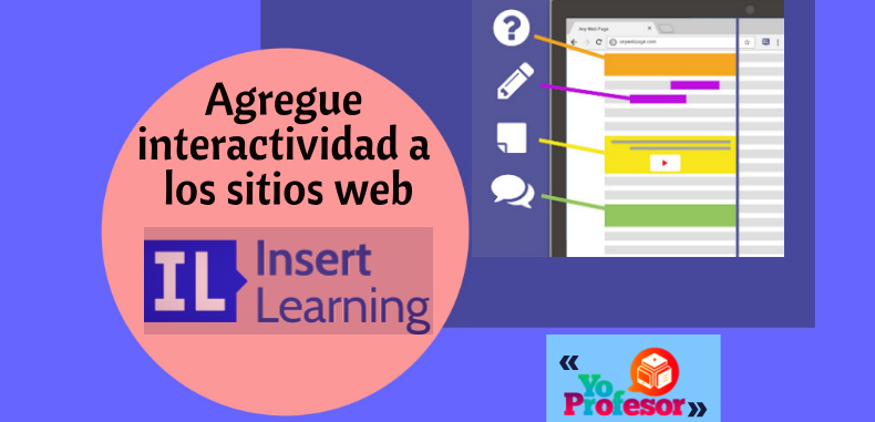 Agregue interactividad a los sitios web con INSERT-LEARNING