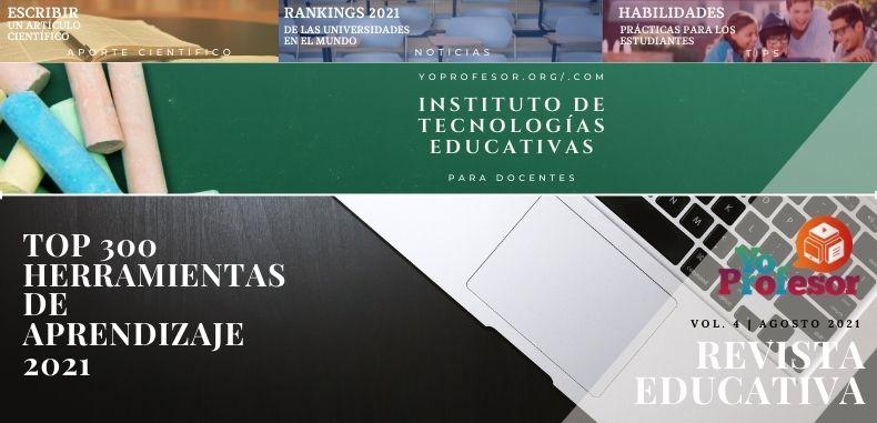 Revista Educativa Yo Profesor Vol. 4   Agosto 2021