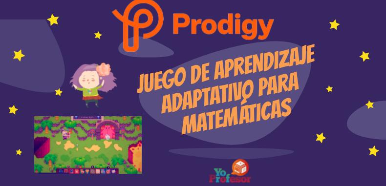 PRODIGY, juego de aprendizaje adaptativo para matemáticas